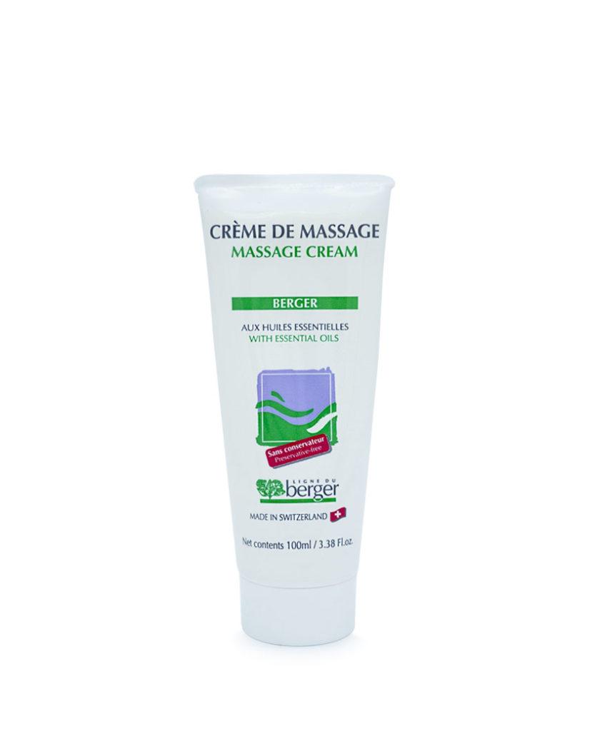 Crème de massage du Berger (non grasse) 100ml