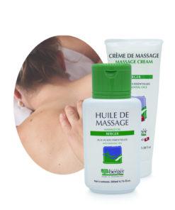 Produits pour le massage Ligne du Berger