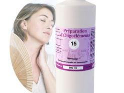 Image Oligoelements 500ml Menoligo Pour ménopause et andropause
