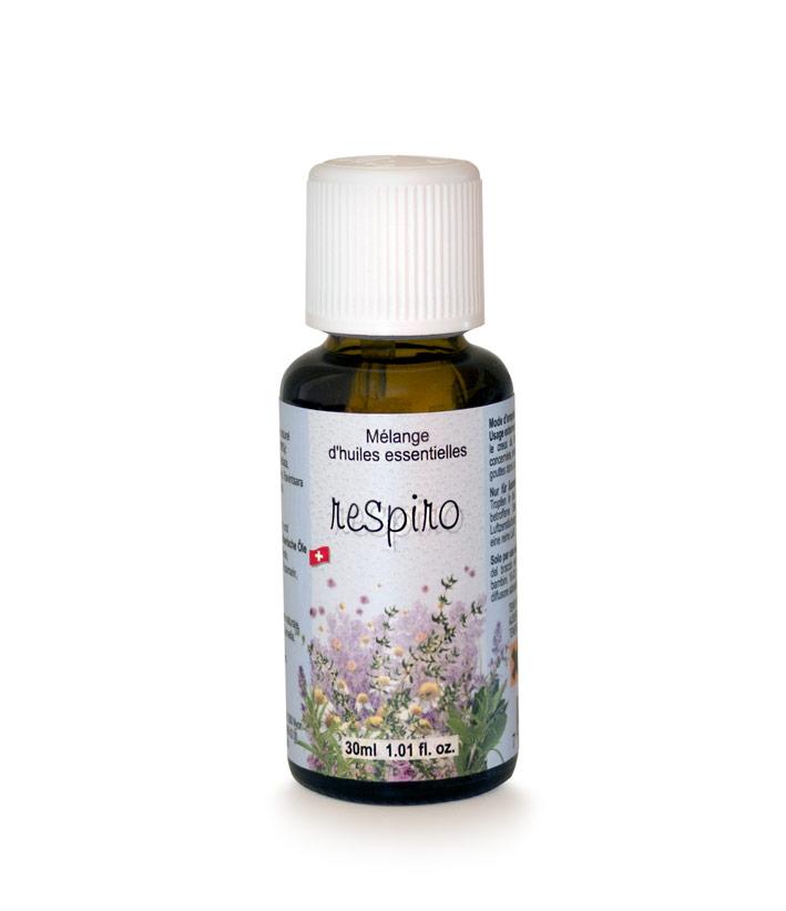 Img Respiro Mélange d'huiles essentielles Problèmes Respiratoires