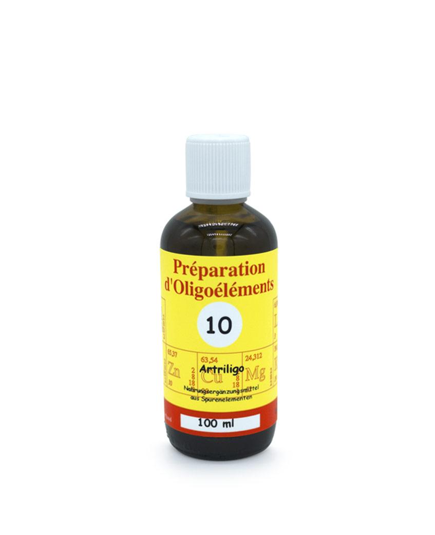 Oligoelements 100ml Artriligo Pour les rhumatismes inflammatoires