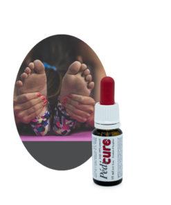 Mélange d'huiles essentielles Soin des pieds