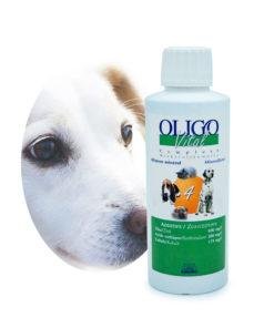 Préparation oligoéléments vétérinaires Oligovital4