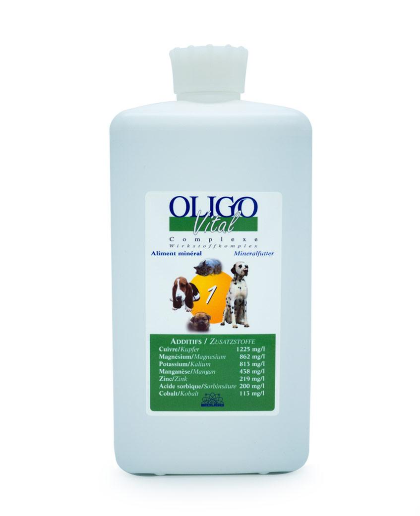 Préparation oligoéléments vétérinaires Oligovital1 1000ml rhumatismes inflammation