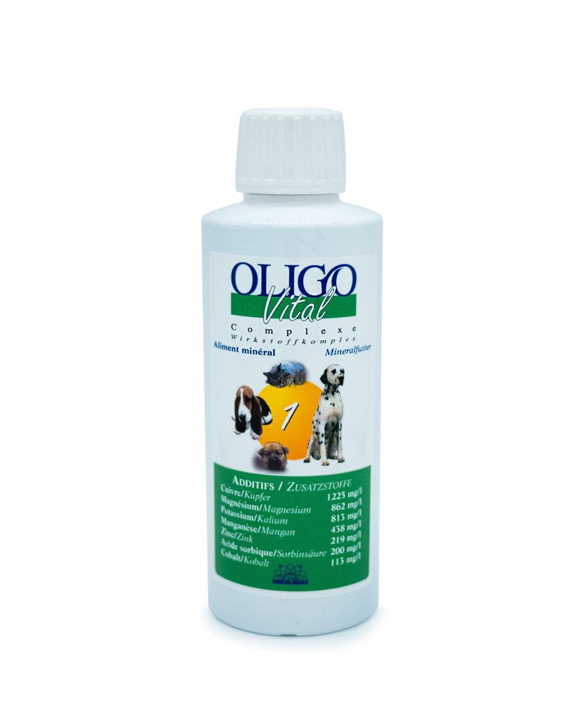 Préparation oligoéléments vétérinaires Oligovital1 250ml rhumatismes inflammation