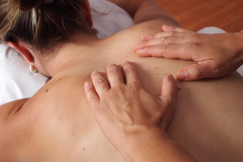 Pour le massage Ligne du Berger