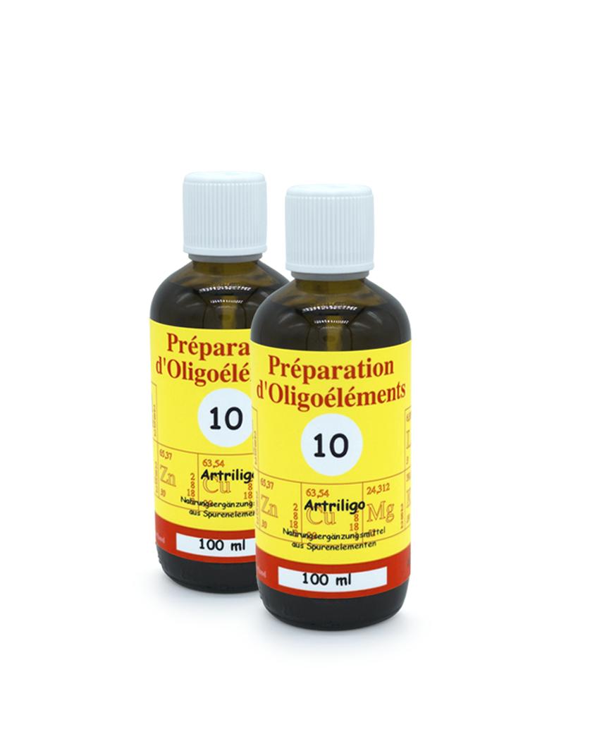 Oligoelements 2x 100ml Artriligo Pour les rhumatismes inflammatoires
